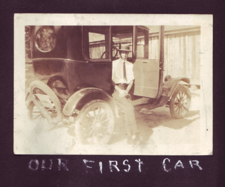 Dad's first car