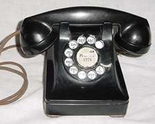 Rorary dial phone